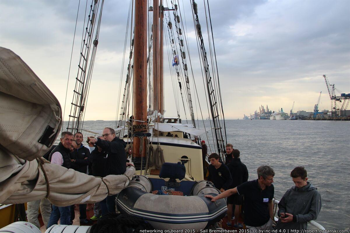 Networking on Board 2015 Sail Bremerhaven