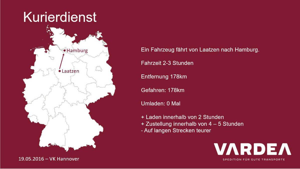 Endlich Sprit! Unser Vortrag beim VK Hannover | vardea logistics